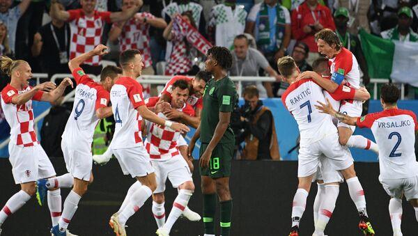 Момент матча Хорватия - Нигерия - Sputnik Беларусь