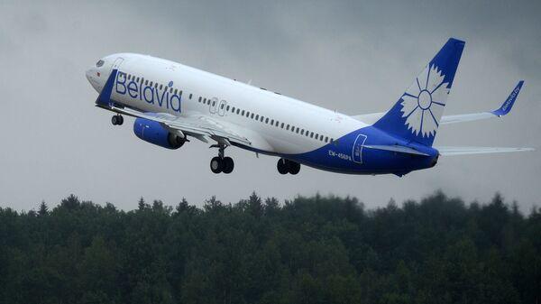 Boeing 737-800 Белавія - Sputnik Беларусь