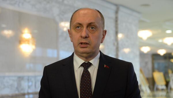 Министр промышленности Беларуси Виталий Вовк - Sputnik Беларусь