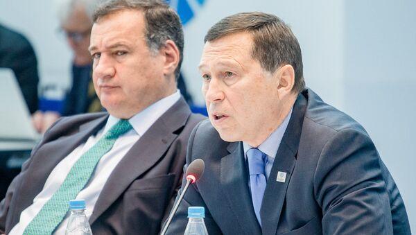 Директор фонда Дирекция II Европейских игр 2019 года Георгий Катулин - Sputnik Беларусь
