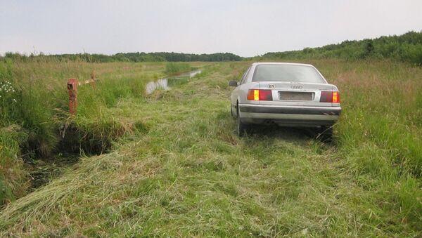 Машина нарушителей - Sputnik Беларусь