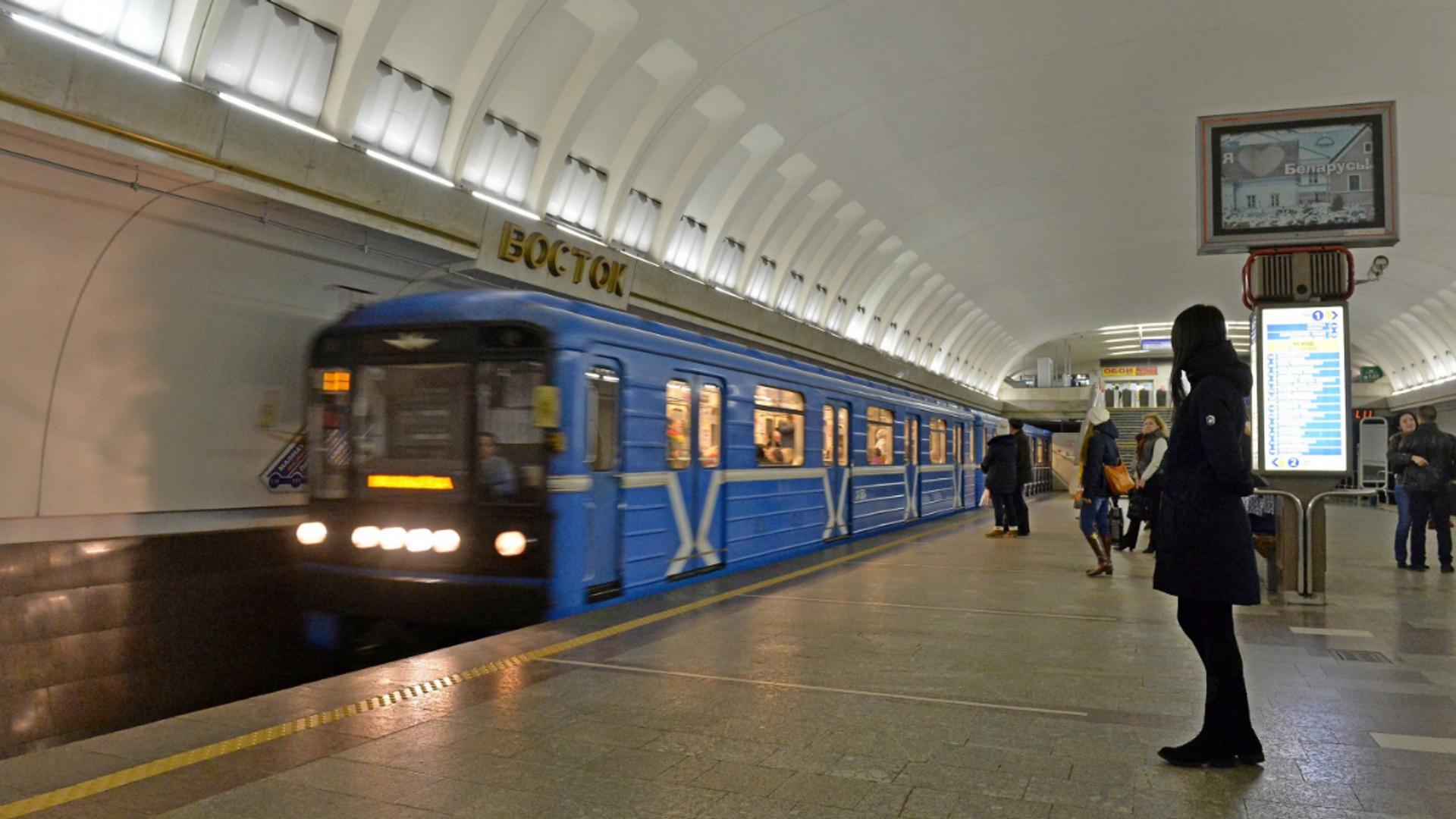 Станция метро Восток минского метрополитена - Sputnik Беларусь, 1920, 14.10.2021
