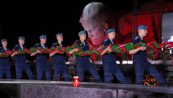 У Брэсцкай крэпасці ўспомнілі ахвяр Вялікай Айчыннай вайны - Sputnik Беларусь