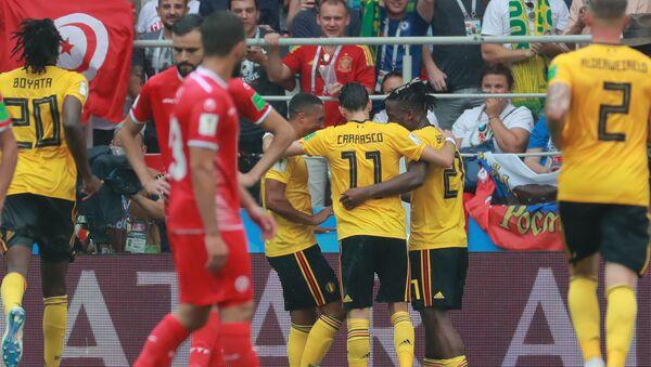 Сборная Бельгии разгромила команду Туниса - Sputnik Беларусь