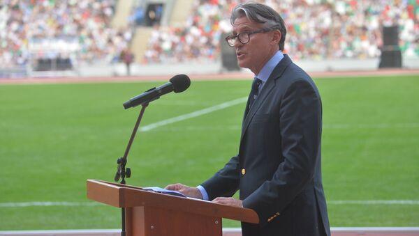 Президент Международной ассоциации легкоатлетических федераций (IAAF) Себастьян Коэ - Sputnik Беларусь