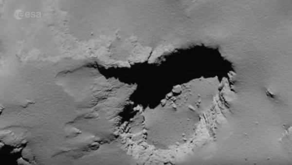 Апошнія кадры спадарожніка Rosetta перад сутыкненнем з каметай - Sputnik Беларусь
