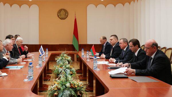 Встреча с сопредседателями Минской группы ОБСЕ и действующим председателем ОБСЕ по нагорно-карабахскому конфликту - Sputnik Беларусь