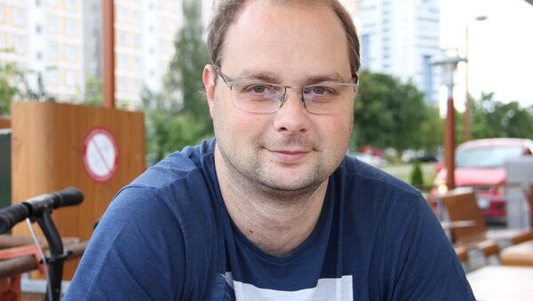 Авиадиспетчер Дмитрий Жук - Sputnik Беларусь