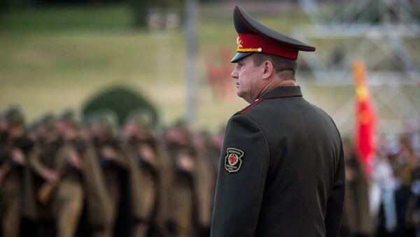 Министр обороны Беларуси Андрей Равков - Sputnik Беларусь