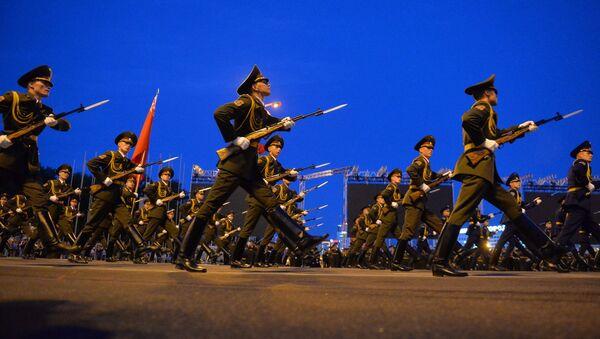 Генеральная рэпетыцыя парада да Дня Незалежнасці - Sputnik Беларусь