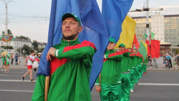 Репетиция парада в Витебске - Sputnik Беларусь