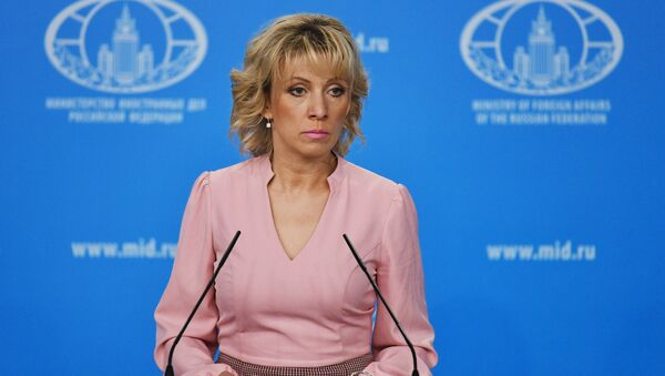 Официальный представитель министерства иностранных дел РФ Мария Захарова - Sputnik Беларусь