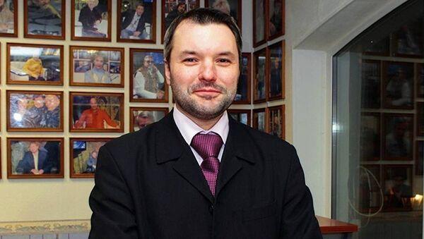 Политический эксперт, директор Института современного государственного развития РФ Дмитрий Солонников - Sputnik Беларусь