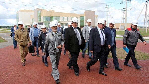 Урадавая дэлегацыя Узбекістана наведала Беларускую АЭС - Sputnik Беларусь