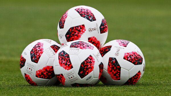 Мячы Чэмпіянату свету па футболе, архіўнае фота - Sputnik Беларусь