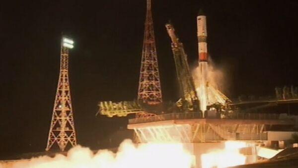 Запуск к МКС ракеты-носителя с кораблем Прогресс МС-09 - Sputnik Беларусь