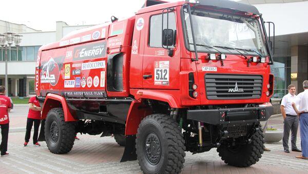 Камион команды МАЗ-СПОРТавто - Sputnik Беларусь