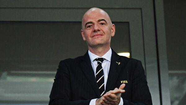 Президент ФИФА Джанни Инфантино - Sputnik Беларусь