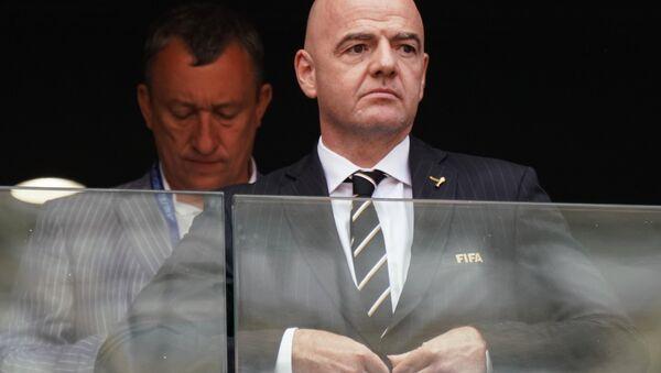 Президент FIFA Джанни Инфантино - Sputnik Беларусь