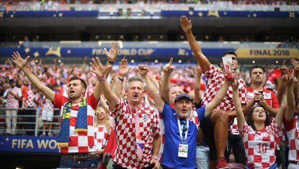 Болельщики сборной Хорватии - Sputnik Беларусь