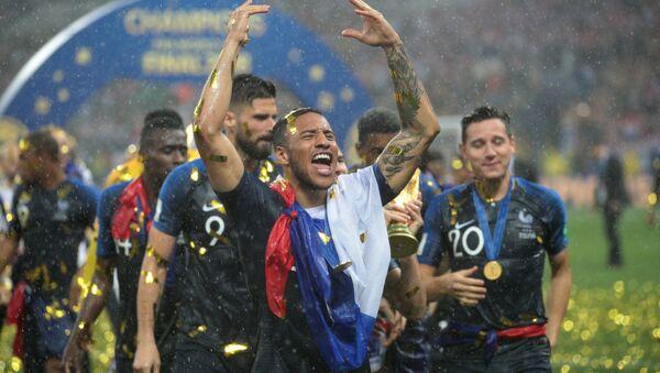 Сборная Франции одержала победу над сборной Хорватии на ЧМ по футболу - Sputnik Беларусь