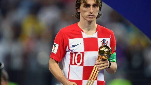 Лучший игрок чемпионата мира по футболу FIFA 2018 Лука Модрич - Sputnik Беларусь