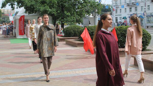 Модны паказ прайшоў у Віцебску - Sputnik Беларусь