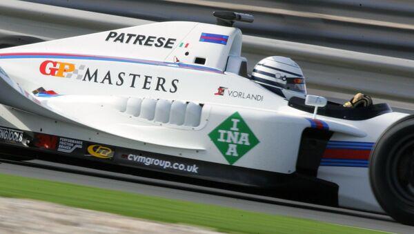 Рикардо Патрезе в серии GP Masters - Sputnik Беларусь