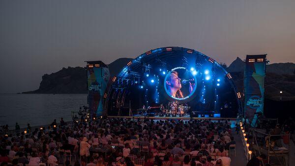 Зрители на фестивале Koktebel Jazz Party 2017 - Sputnik Беларусь