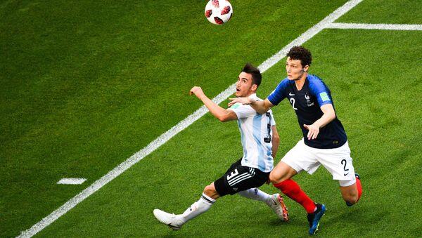 Футбол. ЧМ-2018. Матч Франция - Аргентина - Sputnik Беларусь