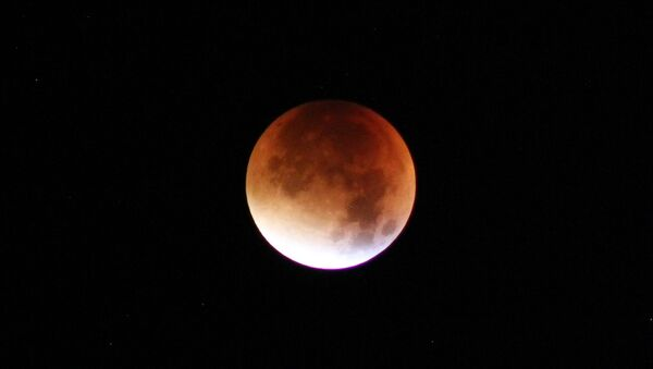 Затмение луны, архивное фото - Sputnik Беларусь
