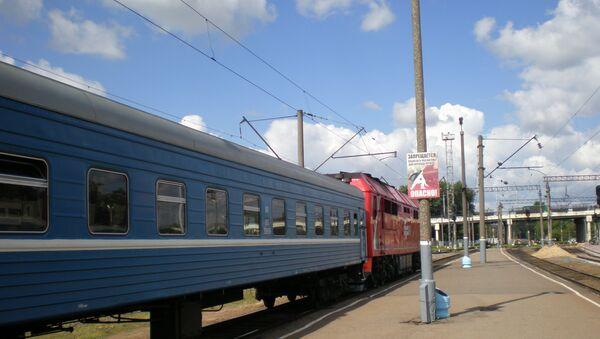Цягнік на запасным шляху - Sputnik Беларусь