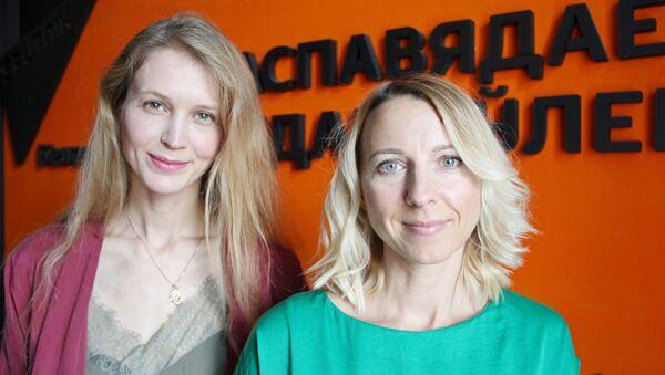 Яніна Ганчарова і Ірына Куксік - Sputnik Беларусь