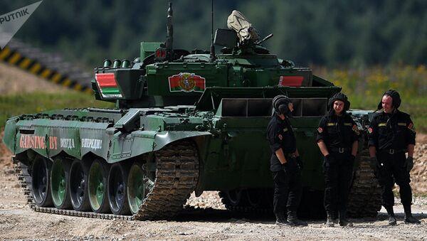 Танковый биатлон - Sputnik Беларусь