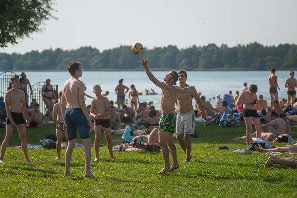 У Драздах - самы зручны пляж з боку інфраструктуры. - Sputnik Беларусь