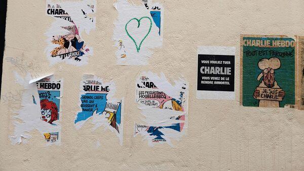 Фото журнала Charlie Hebdo после теракта - Sputnik Беларусь