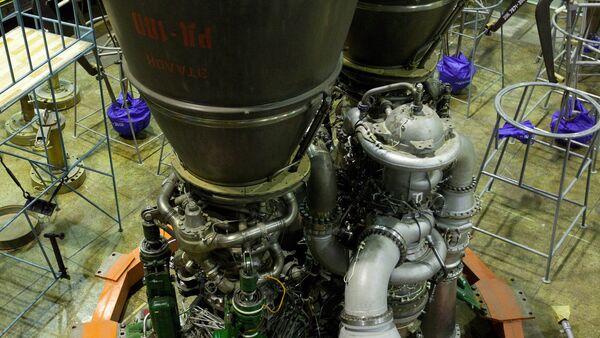 Ракетный двигатель РД-180 НПО Энергомаш - Sputnik Беларусь