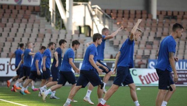 Футболисты БАТЭ на тренировке в Хельсинки - Sputnik Беларусь