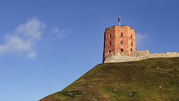 Вільнюсы, башня Гедыміна - Sputnik Беларусь