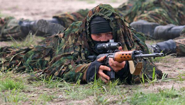 Беларускі снайпер, архіўнае фота - Sputnik Беларусь