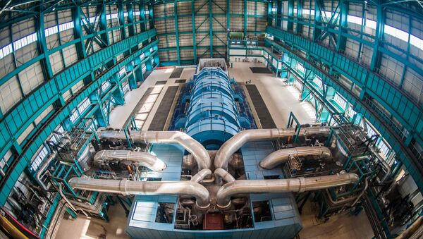 Турбинный зал АЭС - Sputnik Беларусь