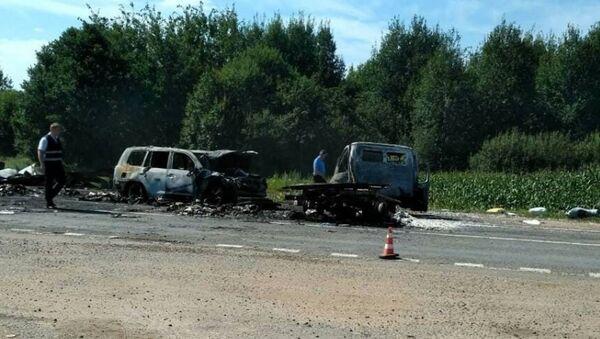 Смертельное ДТП под Оршей на трассе М8 - Sputnik Беларусь