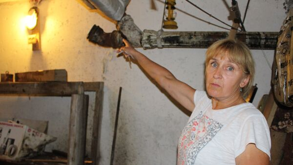Подвал и та самая труба, с которой началось бедствие и на которую забыли поставить заглушку - Sputnik Беларусь