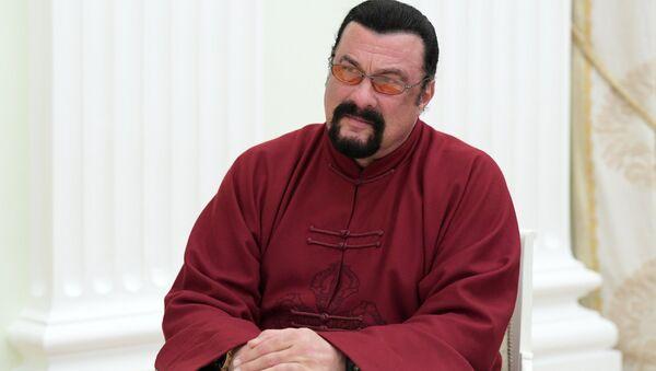 Актер Стивен Сигал - Sputnik Беларусь