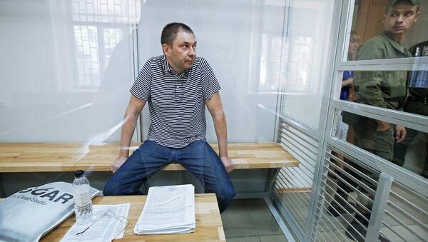 Разгляд апеляцыі па справе журналіста К. Вышынскага - Sputnik Беларусь
