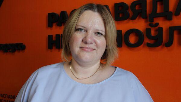 Начальнік упраўлення медыцынскага страхавання кампаніі Белдзяржстрах Людміла Кулак - Sputnik Беларусь