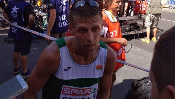 Белорус Дмитрий Дюбин стал третьим в спортивной ходьбе - Sputnik Беларусь