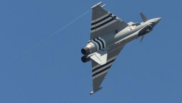 Многоцелевой истребитель Eurofighter Typhoon - Sputnik Беларусь