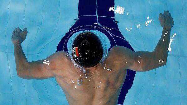 Белорусский пловец Илья Шиманович - Sputnik Беларусь
