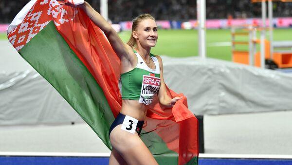 Белорусская бегунья Эльвира Герман - Sputnik Беларусь